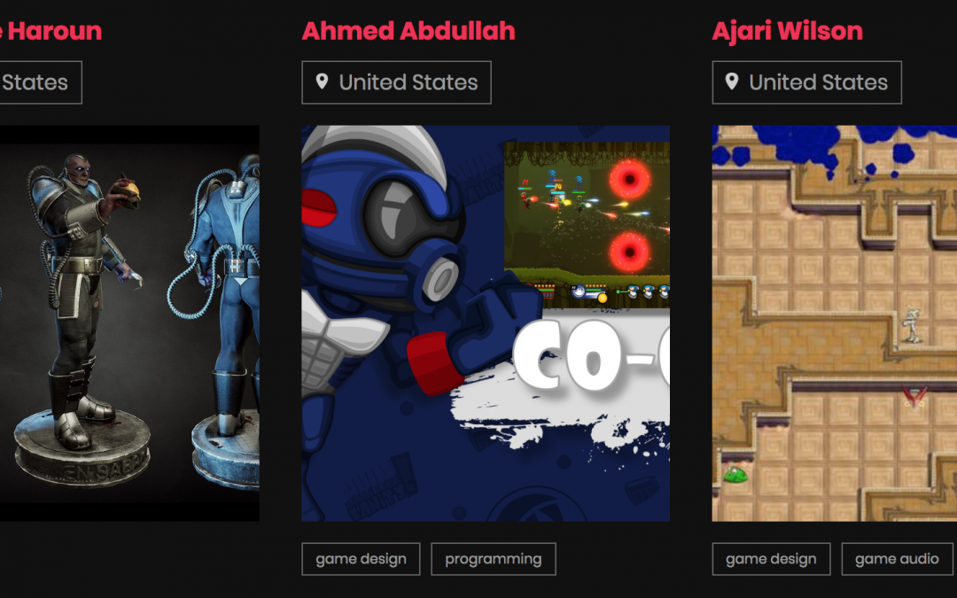 Black Game Developers, a new directory of amazing designers and their work